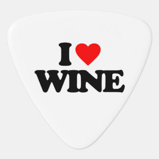 I LOVE WINE PLECTRUM