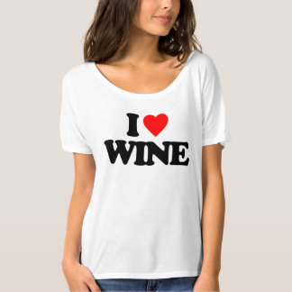 I LOVE WINE TSHIRTS