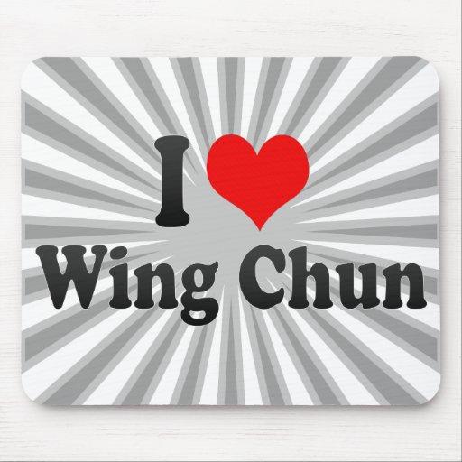 I love Wing Chun Mousepad
