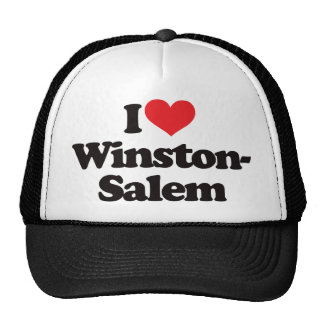 I Love Winston-Salem Cap