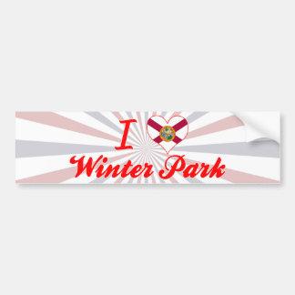 I Love Winter Park, Florida Bumper Stickers