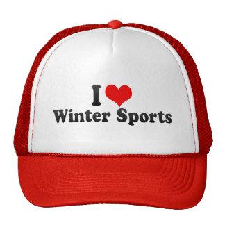 I Love Winter Sports Trucker Hat