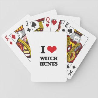 I love Witch Hunts Poker Cards