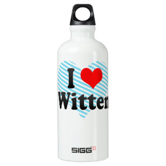 I Love Witten, Germany SIGG Traveller 0.6L Water Bottle