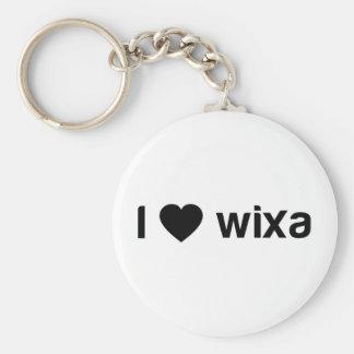 I Love Wixa Key Ring