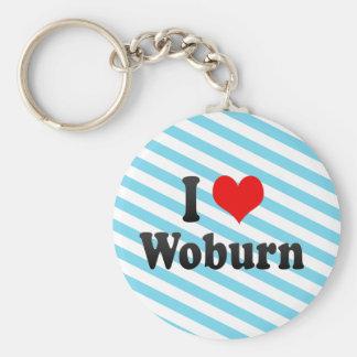 I Love Woburn, United States Keychain