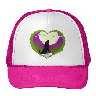 I Love Wolves hat