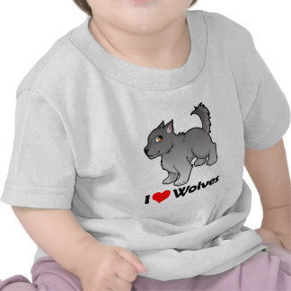I Love Wolves Tees