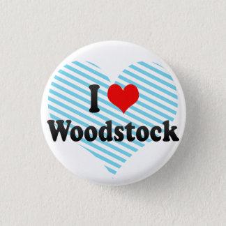 I Love Woodstock, Canada 3 Cm Round Badge