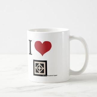 I Love Woodstock (mug) Basic White Mug