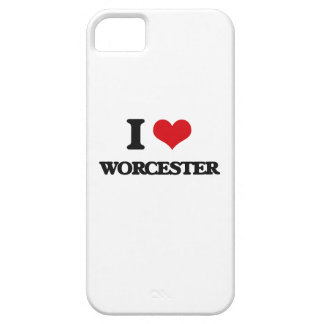 I love Worcester iPhone 5 Cases