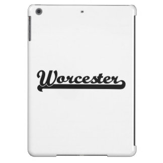 I love Worcester Massachusetts Classic Design iPad Air Cover