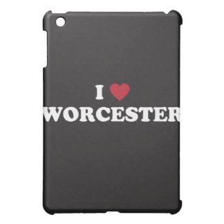 I Love Worcester Massachusetts iPad Mini Cases