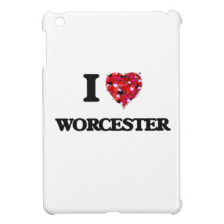 I love Worcester Massachusetts iPad Mini Case
