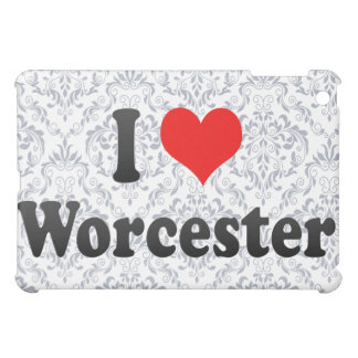 I Love Worcester United States Cover For The iPad Mini