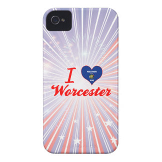 I Love Worcester Wisconsin Case-Mate iPhone 4 Case