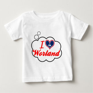 I Love Worland, Wyoming Tshirts