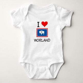 I Love Worland Wyoming Tshirts