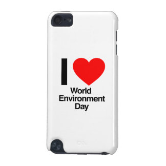 i love world environment day iPod touch 5G cases