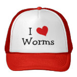 I Love Worms Hat