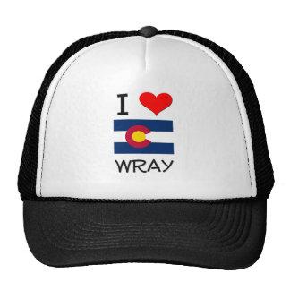 I Love WRAY Colorado Hats