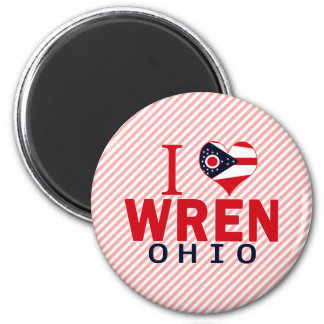 I love Wren, Ohio Magnet