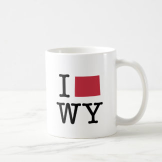 I Love Wyoming Coffee Mug