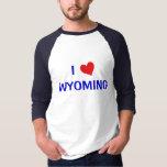 I Love Wyoming Shirts