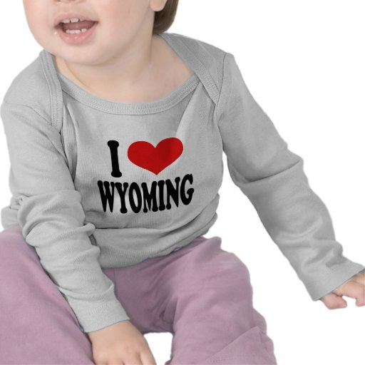 I Love Wyoming Tees