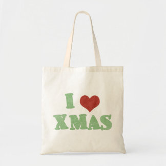 I Love Xmas Tote Bag