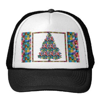 I LOVE XMAS : TREE jadded with PEARL JEWEL GEMS Trucker Hat