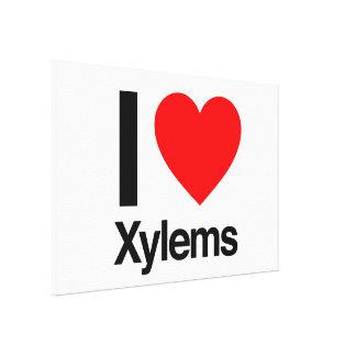 i love xylems gallery wrap canvas