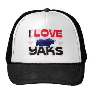 I Love Yaks Cap