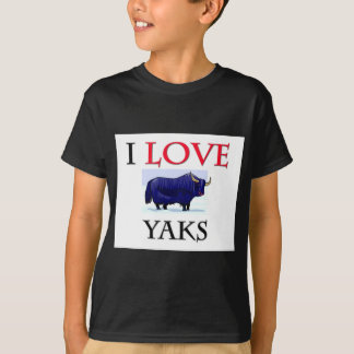 I Love Yaks T-Shirt