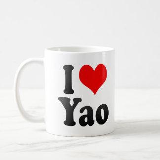 I Love Yao, Japan Basic White Mug