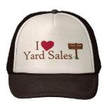 I Love Yard Sales Cap