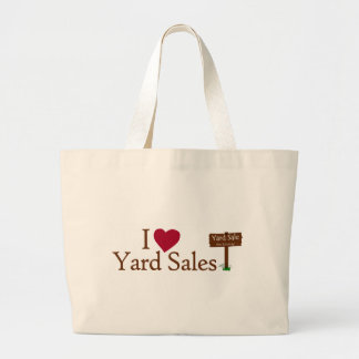 I Love Yard Sales Bags
