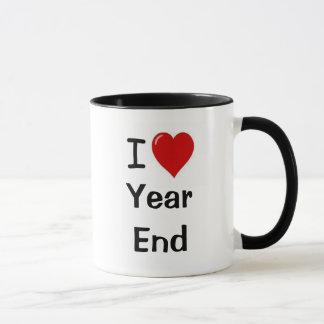 I Love Year End - I Heart Year End Mug