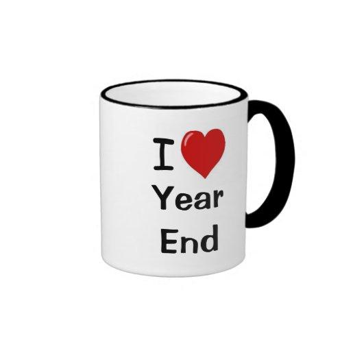 I Love Year End - I Heart Year End Mugs