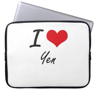 I love Yen Laptop Sleeves