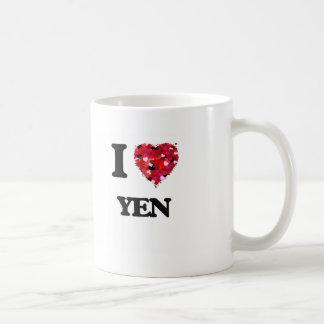 I love Yen Basic White Mug