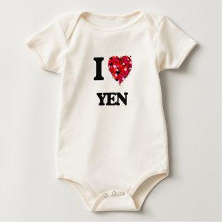 I love Yen Baby Creeper