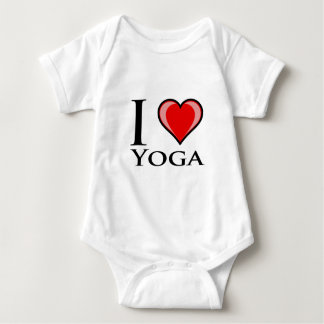 I Love Yoga Baby Bodysuit