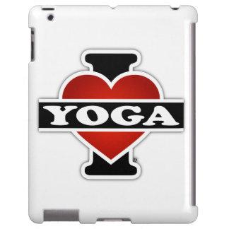 I Love Yoga iPad Case