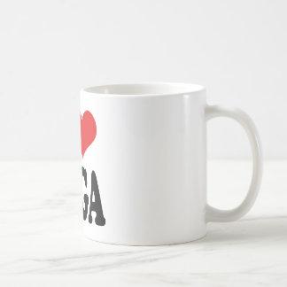 I Love Yoga Coffee Mug