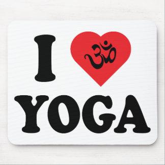 I Love Yoga Gift Mouse Mat