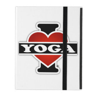 I Love Yoga Cases For iPad