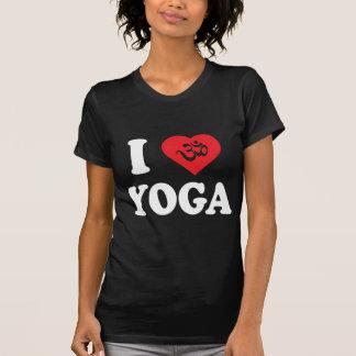 I Love Yoga Women s Dark T-Shirts Tees