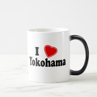 I Love Yokohama Morphing Mug