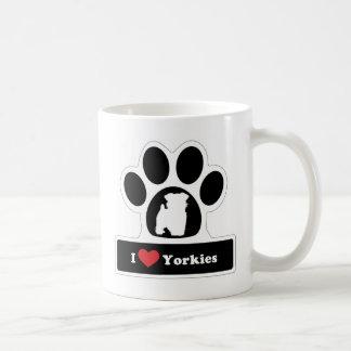 I love Yorkie Mugs
